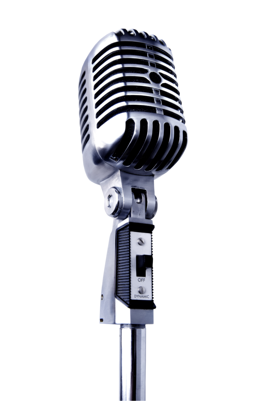 old microphone png