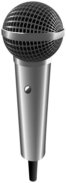 Microphone png silver. Transparent image gallery yopriceville
