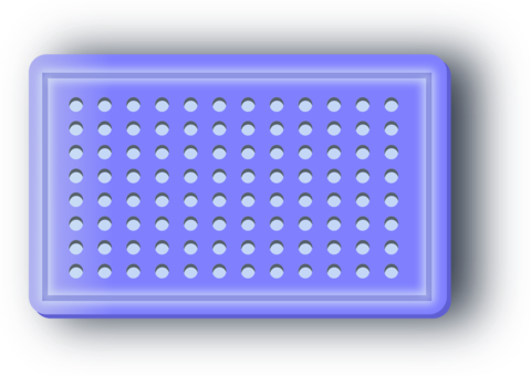 Micropipette drawing blue. Eppendorf epje polymerase chain