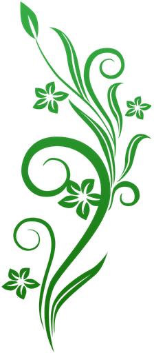 Microsoft clipart green swirls. Vines swirl flowers http