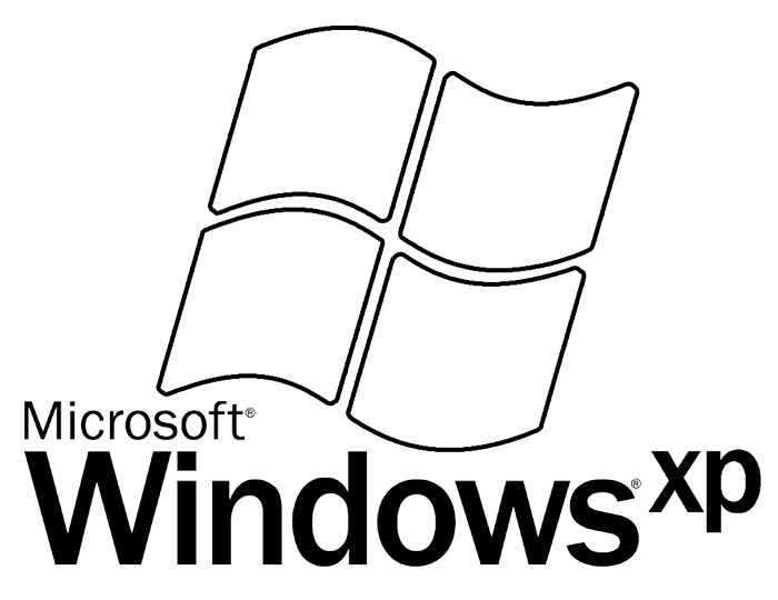 Microsoft windows xp logo png. Color the quiz by