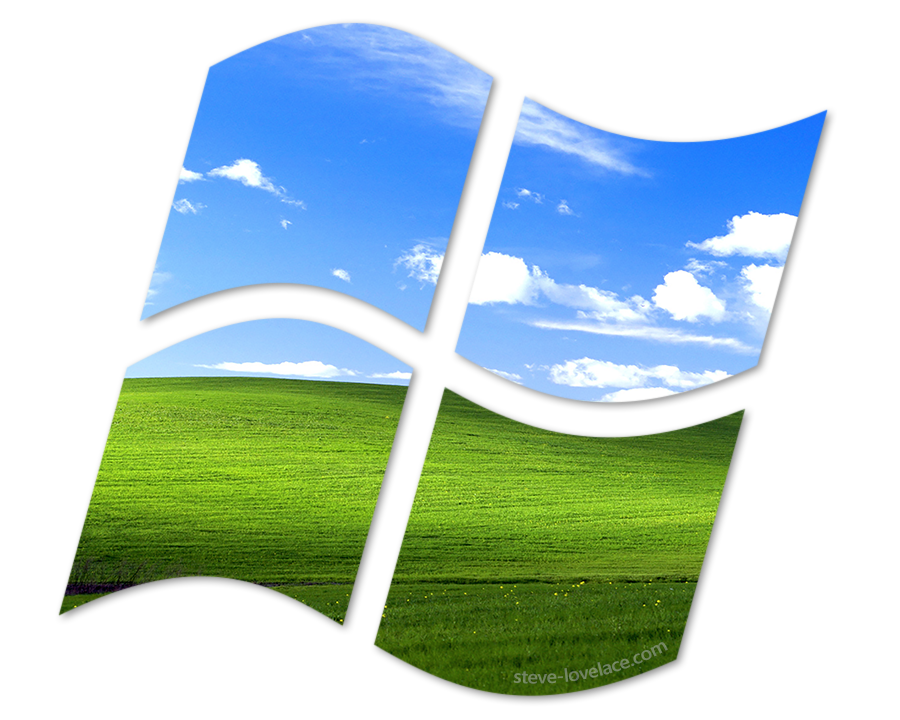 Microsoft windows xp logo png. The os that refuses