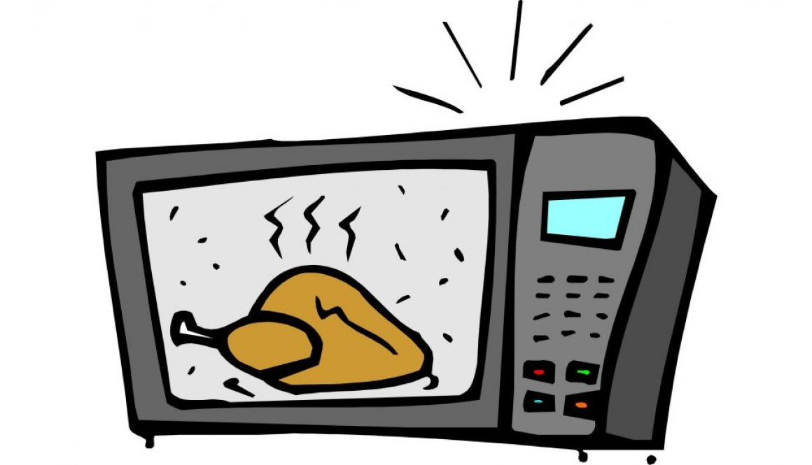 Microwave clipart heating. How does a work