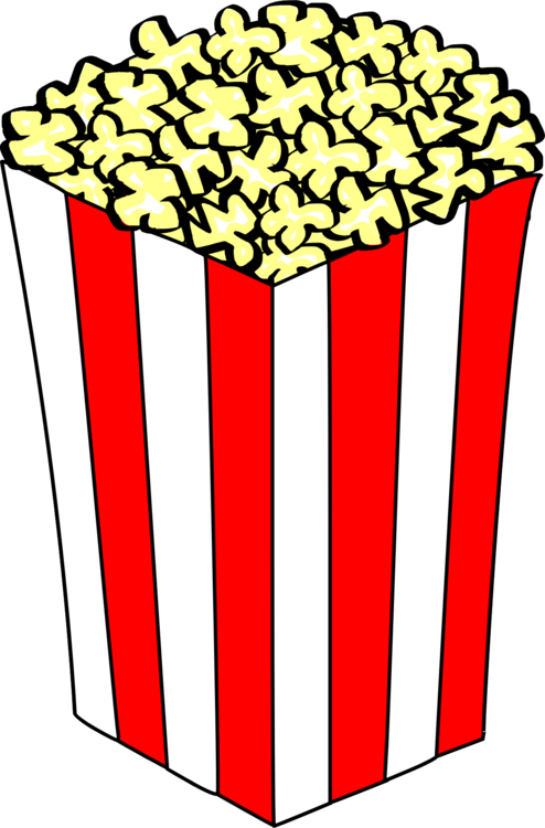 Microwave clipart cute. Popcorn art download document