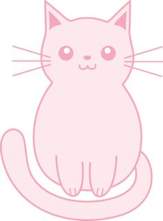 Middle clipart cat. Kitty clip art animals