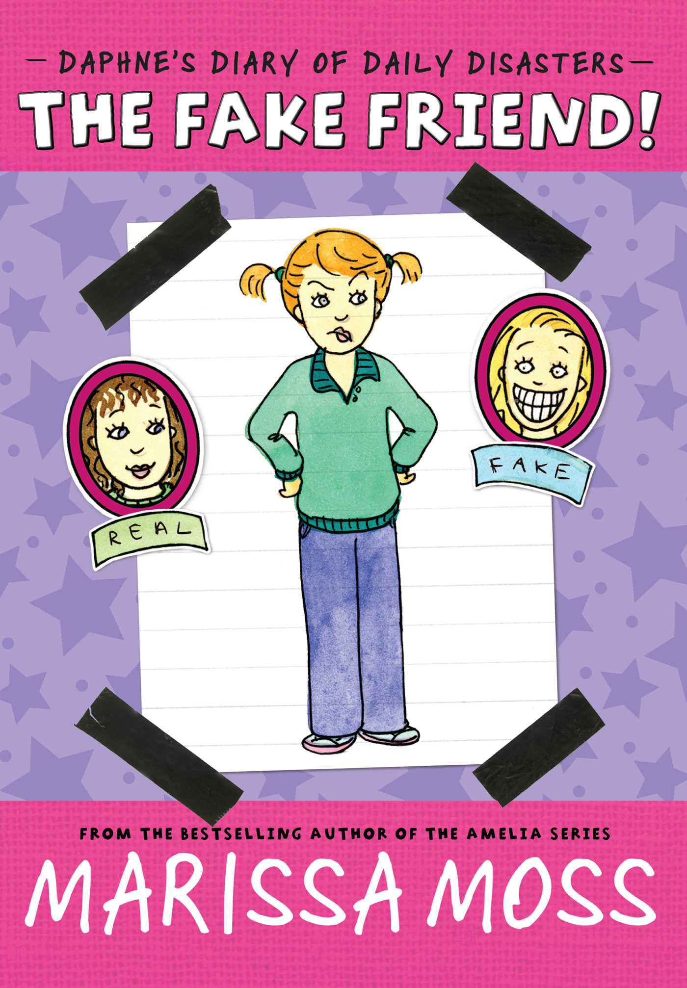 Middle clipart middle school friend. The fake book by