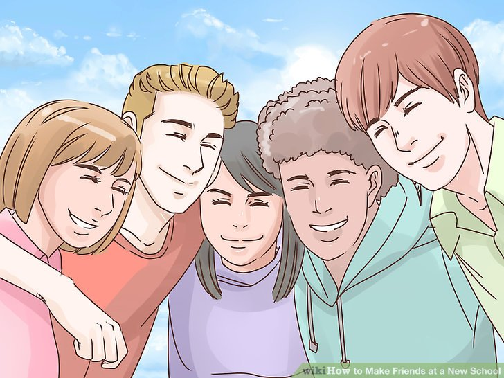 Middle clipart middle school friend. How to make friends