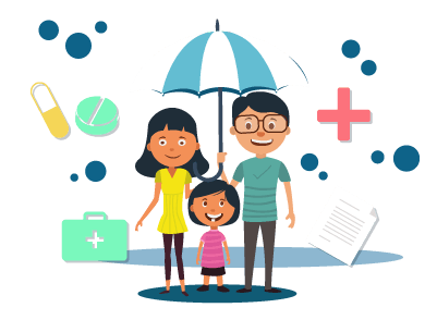 Middle clipart personal life. Insurance compare best plans