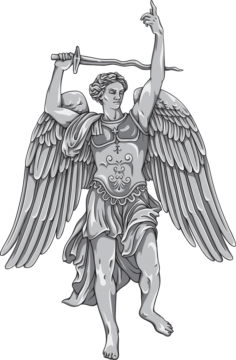 archangel vector saint michael
