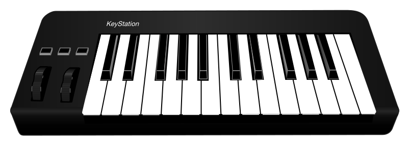 File svg wikimedia commons. Midi keyboard png png library