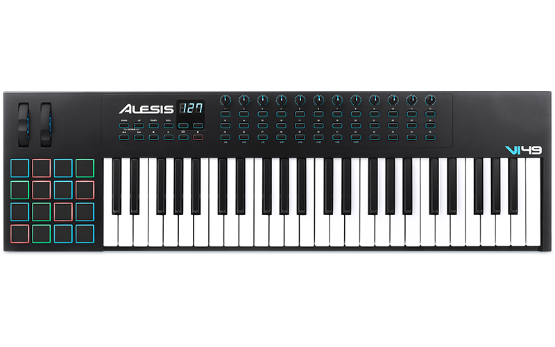 Alesis vi controller trax. Midi keyboard png jpg library download