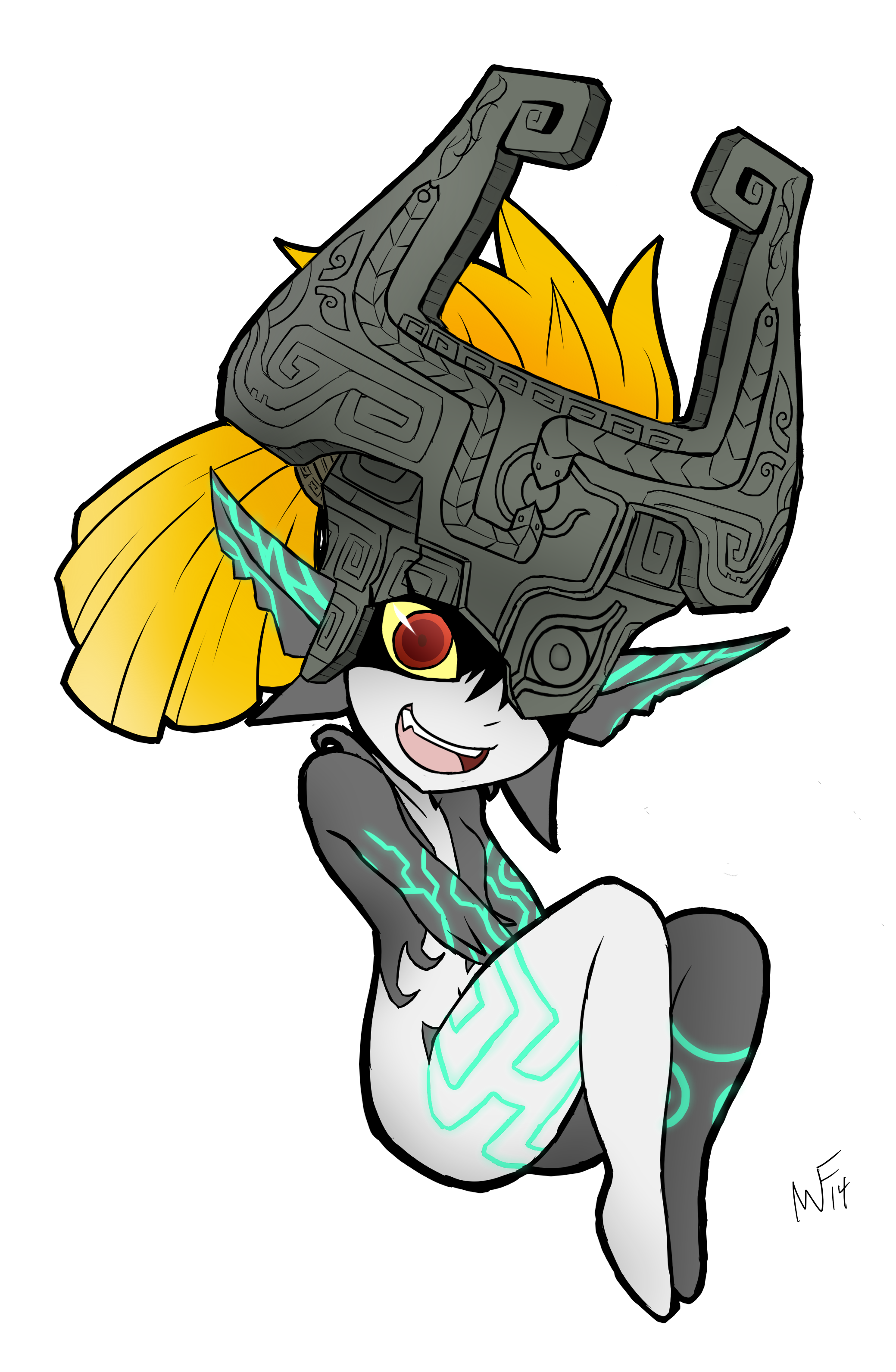 Midna drawing. E absurd res alpha