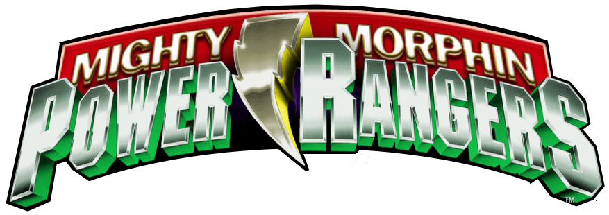 Mighty morphin power rangers logo png. Mm v for next