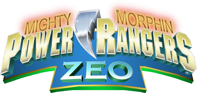 Mighty morphin power rangers logo png. Zeo by derpmp on