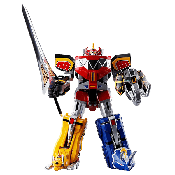 Mighty morphin power rangers png. Megazord gx soul of