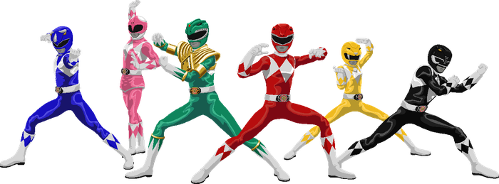 Mighty morphin power rangers png. Favourites by zen on