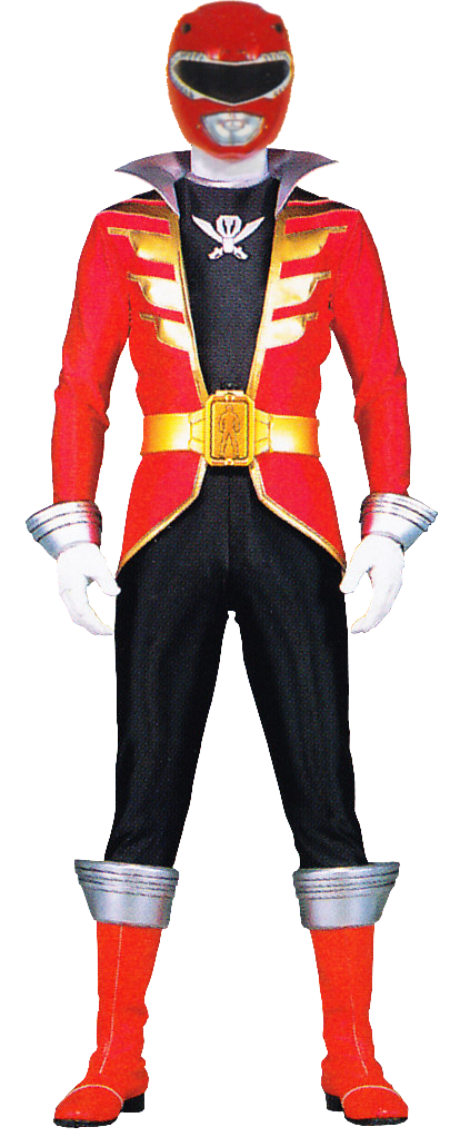 Red ranger png. Image mighty morphin pirate