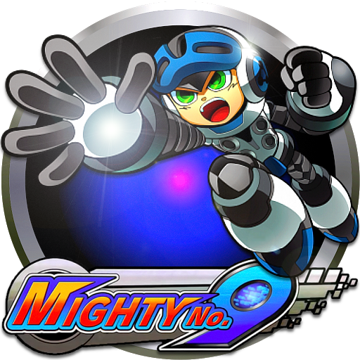 Mighty no 9 logo png. By pooterman on deviantart