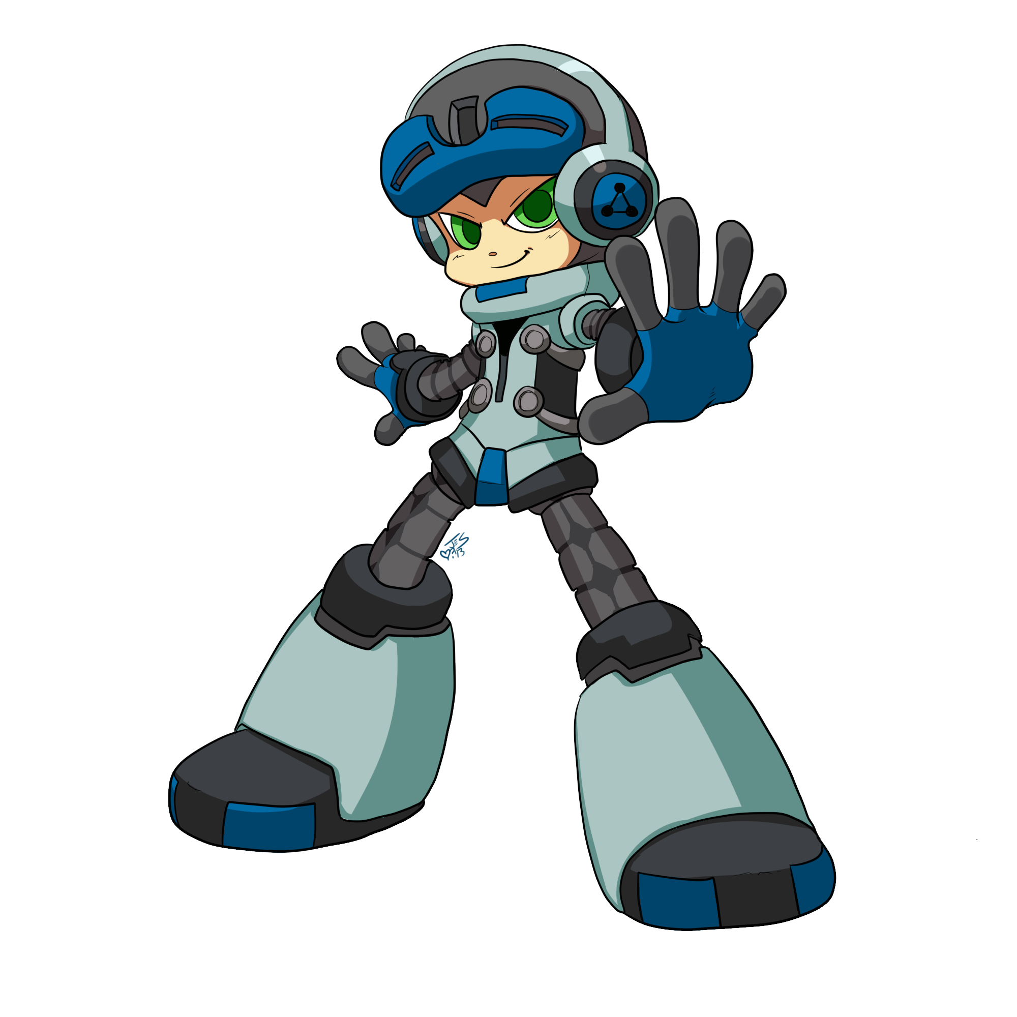 Mighty no 9 logo png. Image know your meme