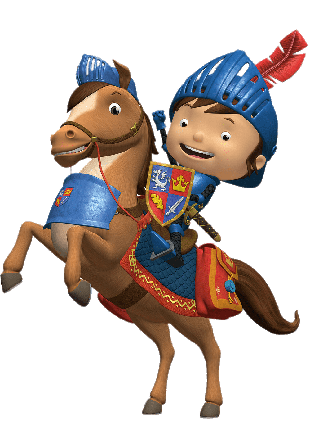 Mike the knight png. Transparent stickpng
