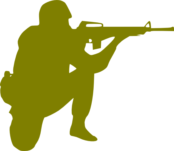 Military clipart army man. Soldier at getdrawings com