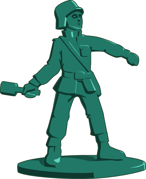 Military clipart little soldier. Toy i royalty free
