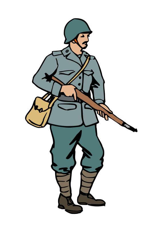 Soldier clipart soldier israeli. Free military download clip