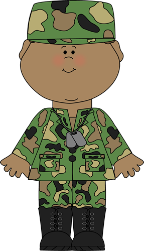 Military clipart solider. Soldier boy clip art