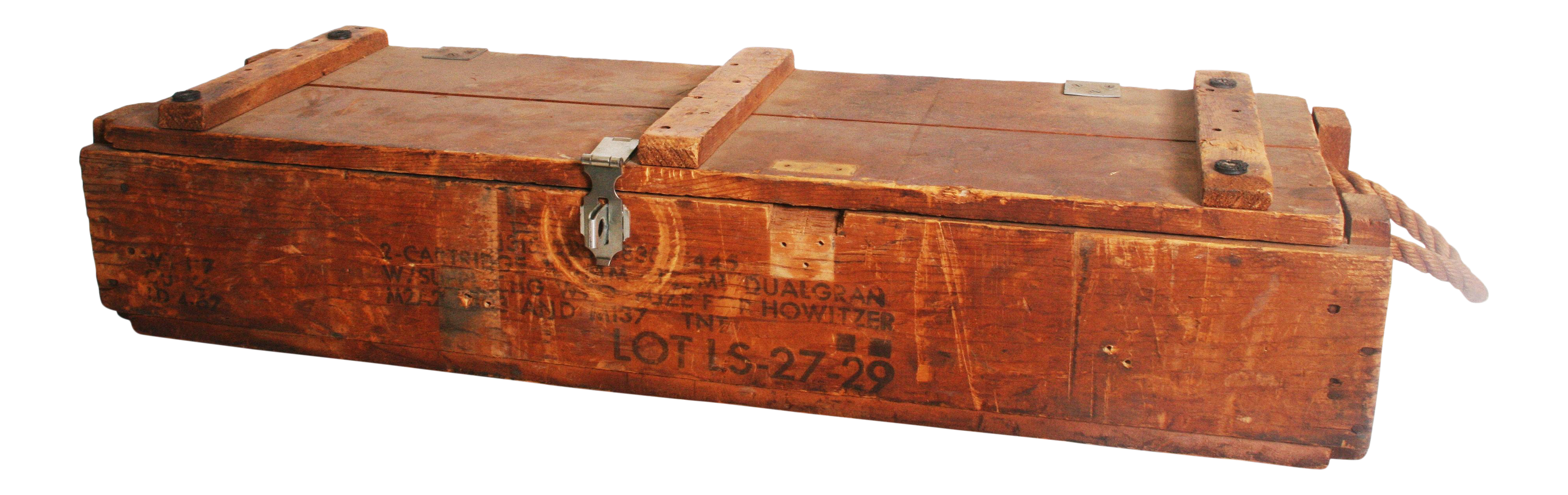 Military crate png. Vintage industrial wood ammo
