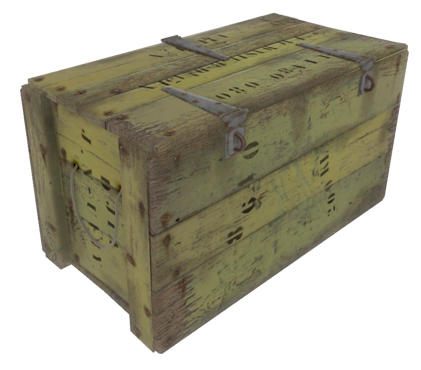 military loot crate png
