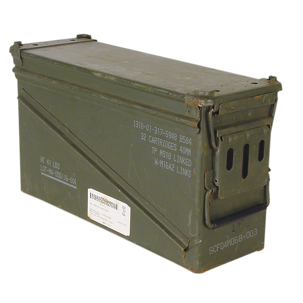 Military crate png. Ammo cans low long