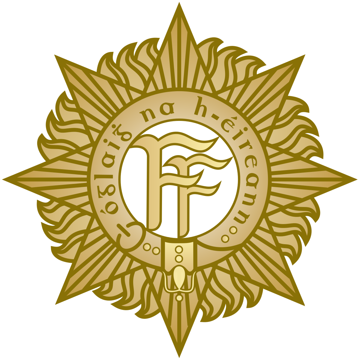 Military crest png. Army reserve ireland wikipedia