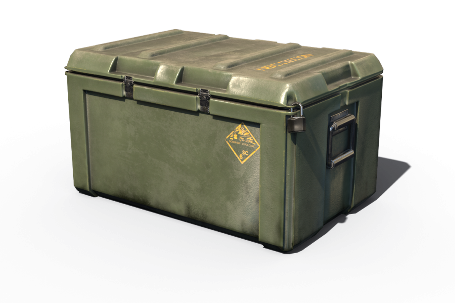 Military loot crate png. Weapon case pbr d