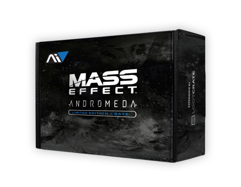 Military loot crate png. Mass effect andromeda gets