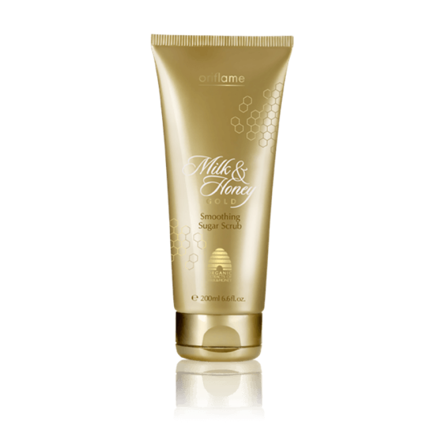 Milk and honey png. Oriflame gold smoothing sugar