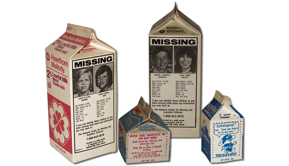 Milk carton missing png. Kids invisible