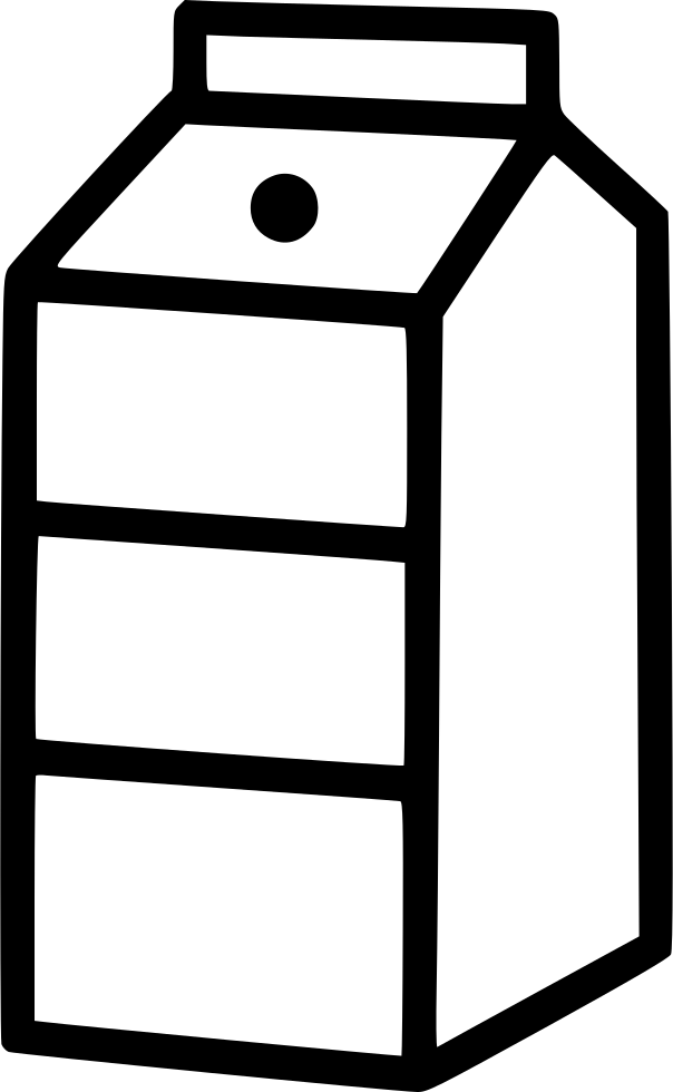 Milk carton png. Svg icon free download