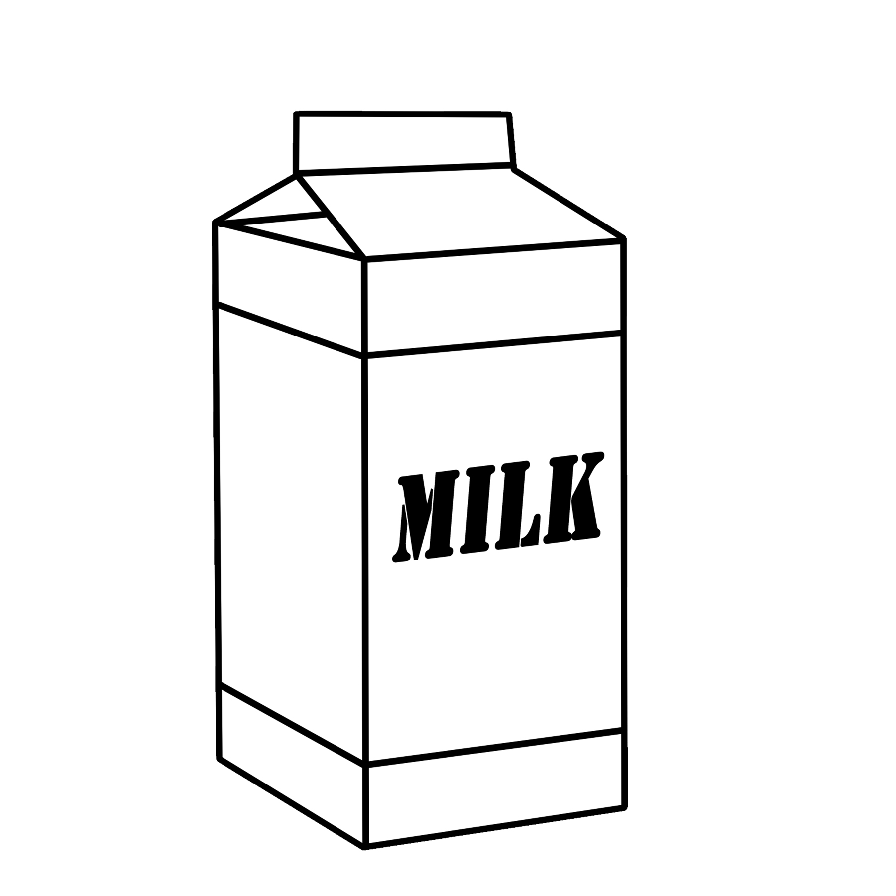 Milk clipart. Dairy graphics free by