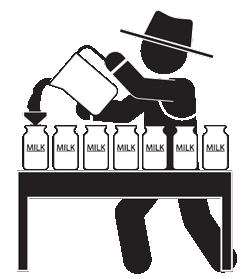 Milk clipart pasteurization. The process baker brook
