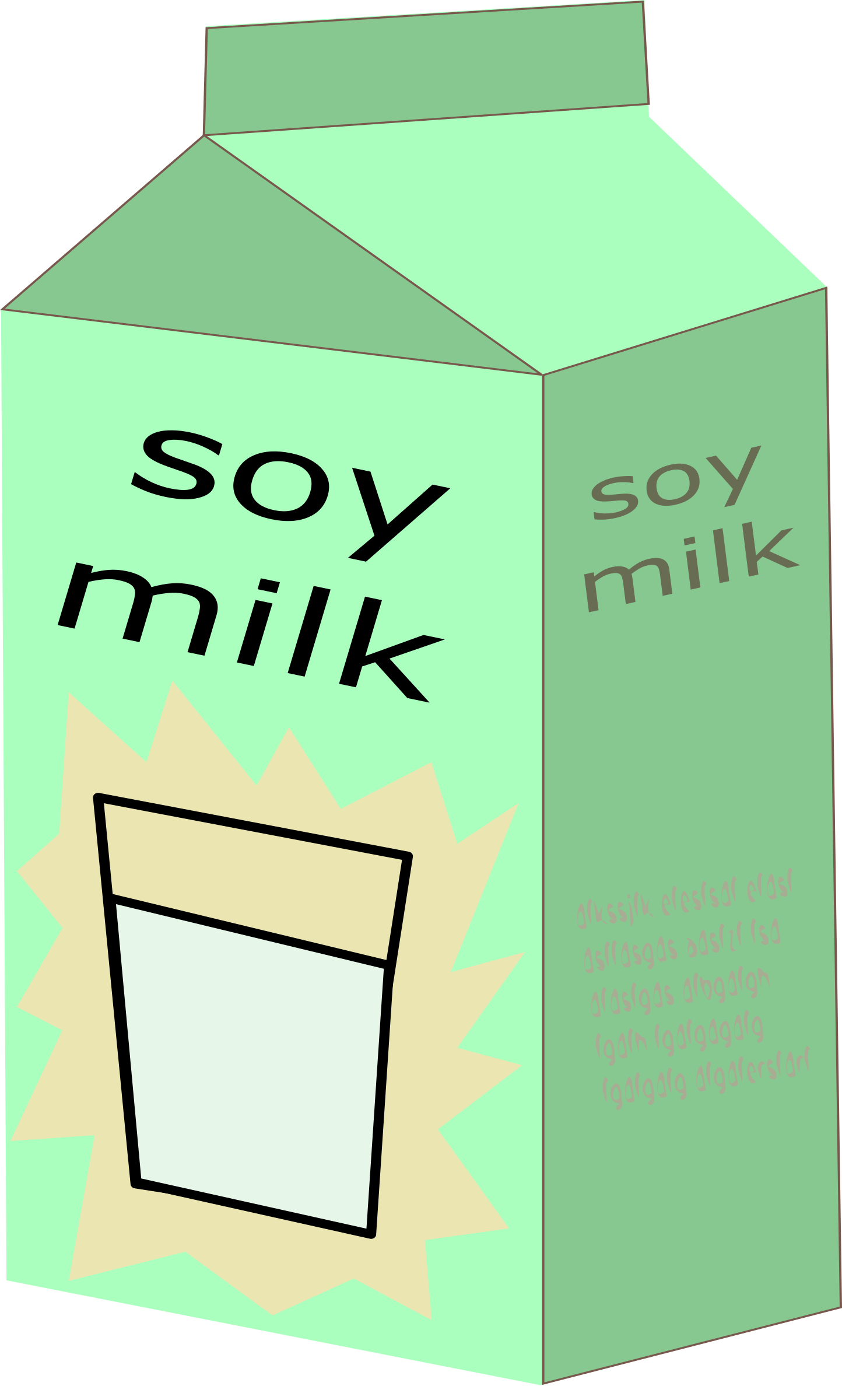 soy milk png