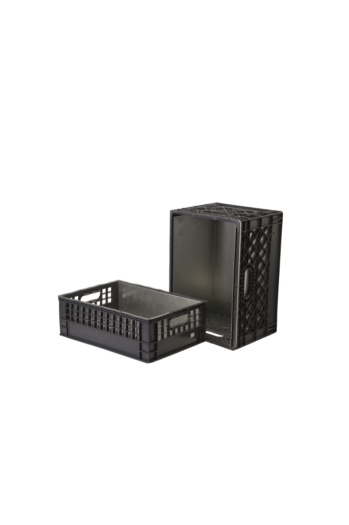 Milk crate png. Crates liners and carts