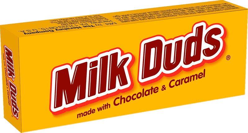 Milk dud png. Hershey s duds the