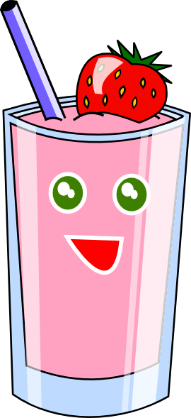 Smoothie vector clipart. Free shake cliparts download