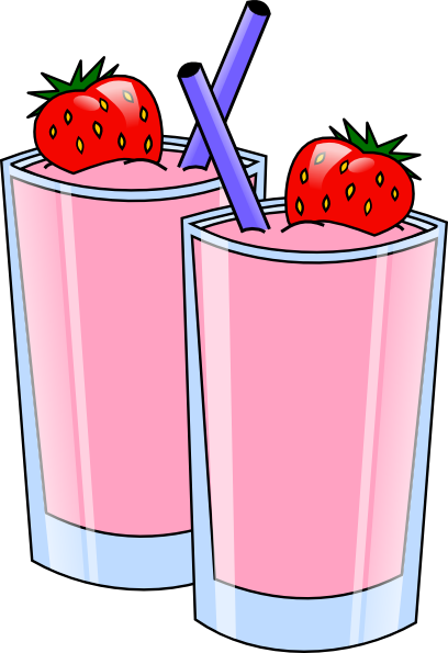 Milkshake png cartoon. Collection of strawberry