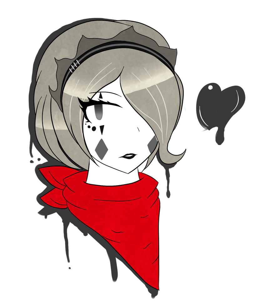 Mime drawing clipart. Best girl by control
