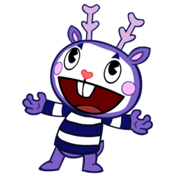 Mime drawing clipart. Happy tree friends heroes
