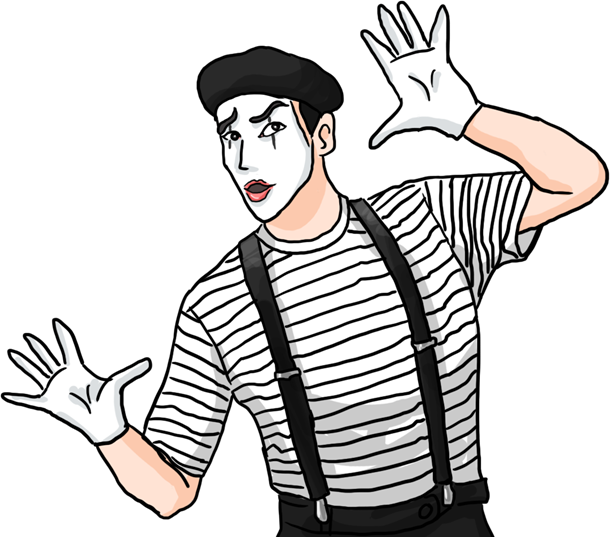 mime drawing time