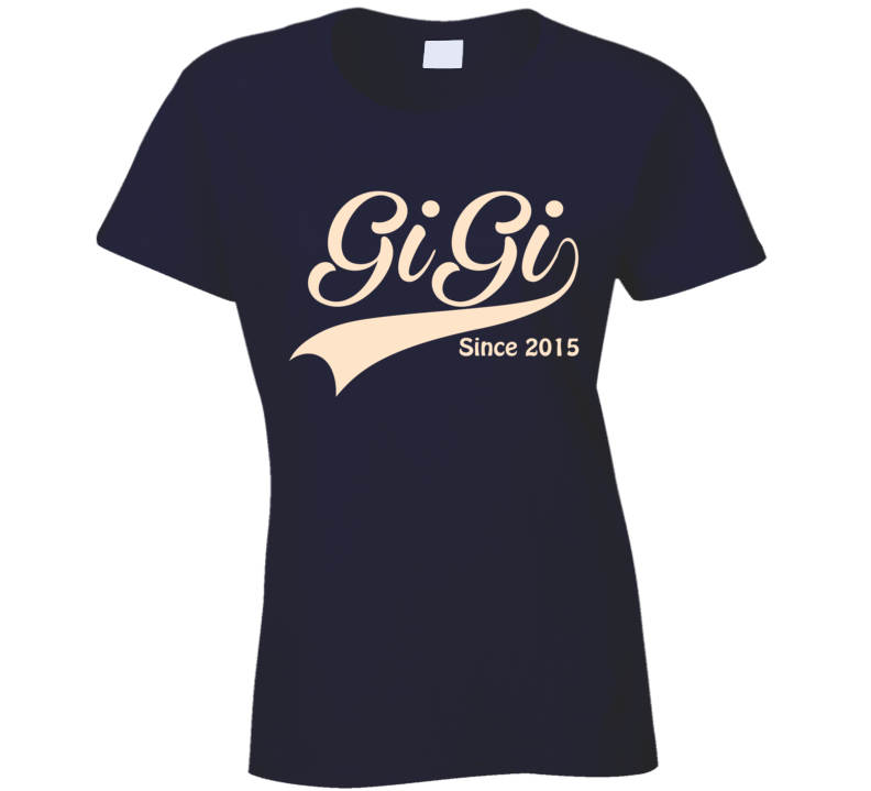 Mimi svg shirt. Gigi since any year