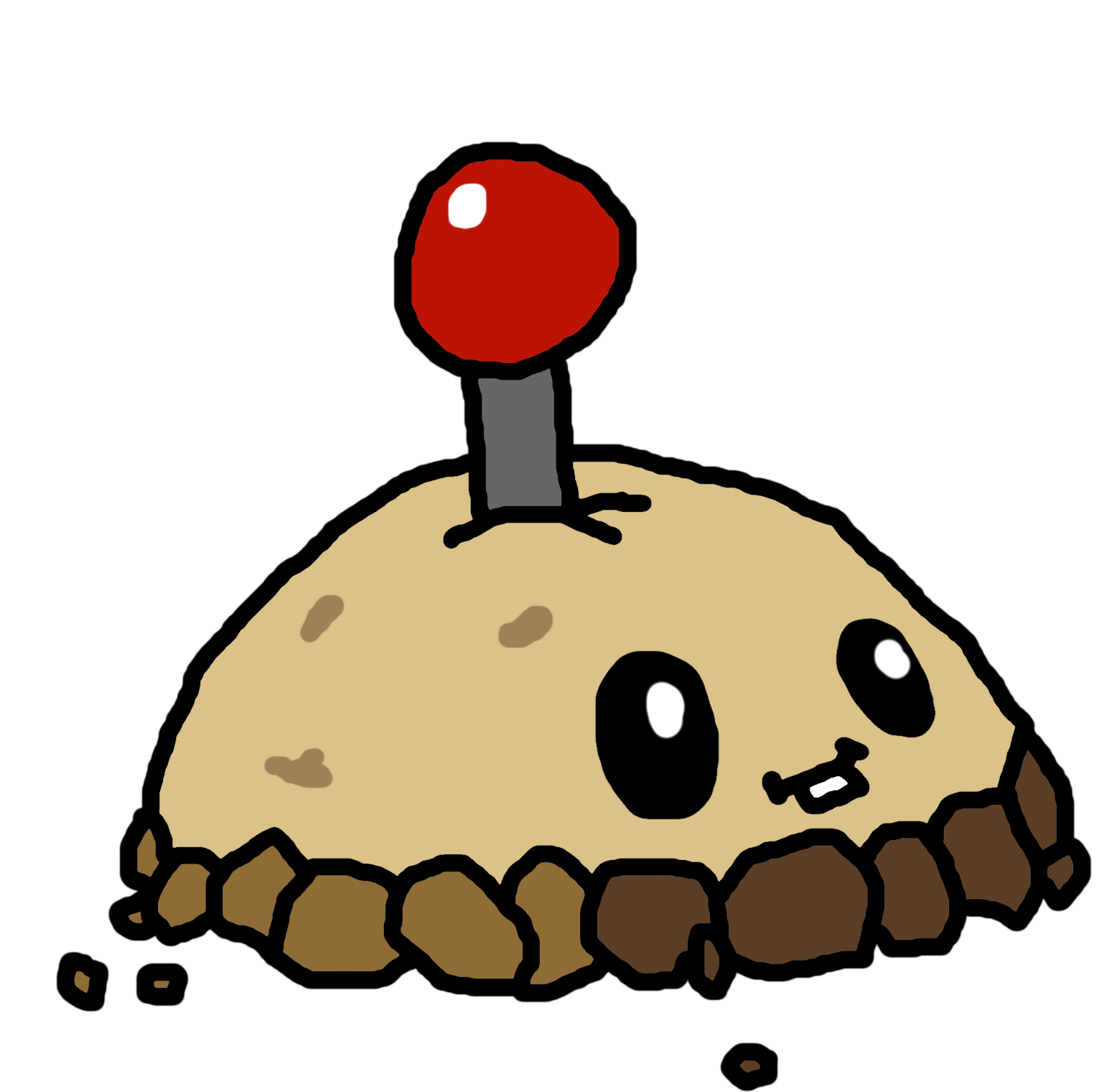 Mine drawing. Image potato png plants