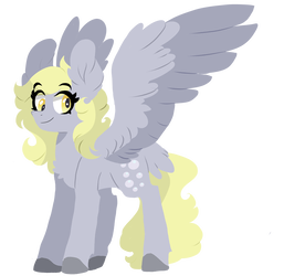 Mine drawing bubble. Horse colored by scarletskitty